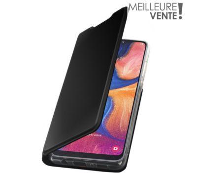 Etui Essentielb Samsung A20e noir