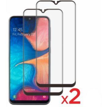 Essentielb Samsung A20e Verre trempé intégral x2