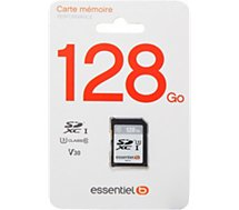 Carte SD Essentielb  SDXC 128 Go Performances