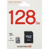 Carte Micro SD Essentielb  Micro SD 128Go Loisir