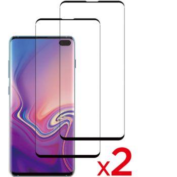 Essentielb Samsung S10+ Verre trempé intégral x2