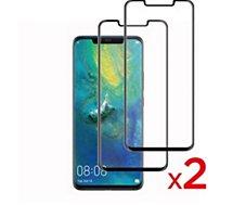 Protège écran Essentielb Huawei Mate 20 pro Verre trempé x2