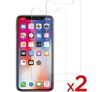 Protège écran Essentielb iPhone Xr Verre trempé x2