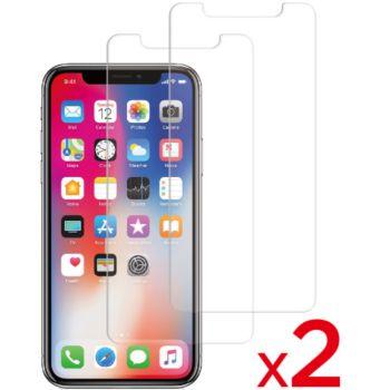 Essentielb iPhone Xr Verre trempé x2