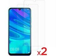 Protège écran Essentielb  Huawei P smart 2019 Verre trempé x2