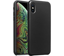 Coque Adeqwat  iPhone Xs Max Cuir noir