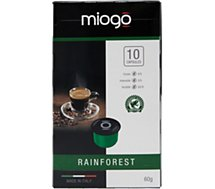 Capsules Miogo RAINFOREST X10