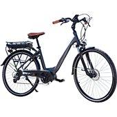 """Vélo électrique Essentielb Urban 600 28"""" gris noir"""