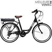 Vélo à assistance électrique Essentielb Urban 400 Noir