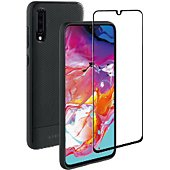 Pack Adeqwat Samsung A70 Coque + Verre trempé