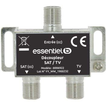 Essentielb TV/Sat 1 entrée & 2 sorties intérieur