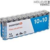 Pile Essentielb 20 x LR06 / AA