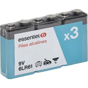 Essentielb 6LR61 3 X 9 Volts