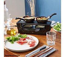 Mini woks Essentielb  mini x2 pour raclette Multiplug