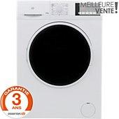 Lave linge séchant hublot Essentielb ELS712-1b