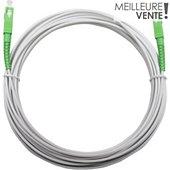 Câble fibre optique Essentielb Fibre optique SFR/ORANGE/BOUYG 10M