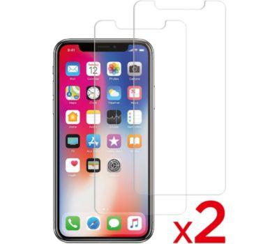 Protège écran Essentielb iPhone 11 Pro Max Verre trempé x2