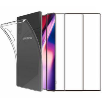 Essentielb Samsung Note 10 Coque + Verre trempé