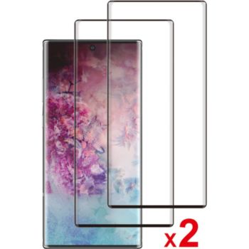 Essentielb Samsung Note 10+ Verre trempé x2