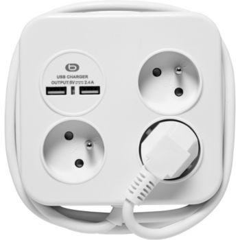 Essentielb + 2 USB avec cable