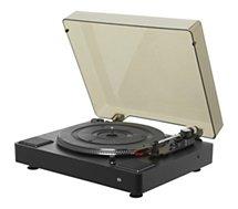 Platine vinyle Essentielb  TT-B561 Noire