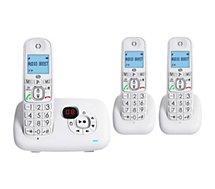 Téléphone sans fil Essentielb  BRIO TRIO-REPONDEUR