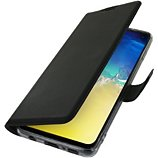 Etui Adeqwat  Samsung S10 Cuir noir