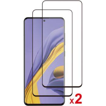 Essentielb Samsung A51 Verre trempé intégral x2