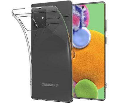 Coque Essentielb Samsung A51 Souple transparent