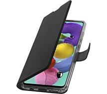 Etui Adeqwat  Samsung A51 Cuir noir