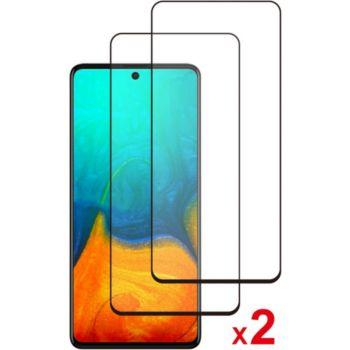 Essentielb Samsung A71 Verre trempé intégral x2
