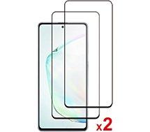 Protège écran Essentielb  Samsung Note 10 Lite Verre trempé x2