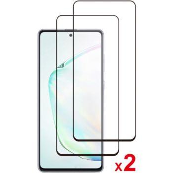 Essentielb Samsung Note 10 Lite Verre trempé x2
