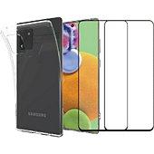 Pack Essentielb Samsung Note 10 Lite Coque+verre trempé