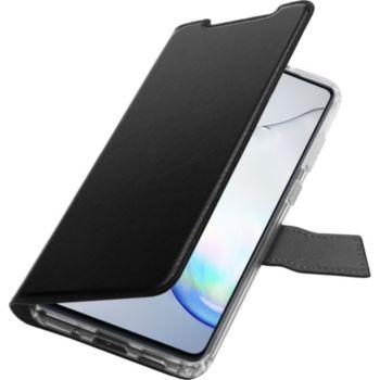 Adeqwat Samsung Note 10 Lite Cuir noir