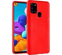 Coque Essentielb  Samsung A21s Fun rouge