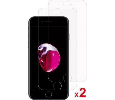 Protège écran Essentielb iPhone 6/7/8/SE 2020 Verre trempé x2