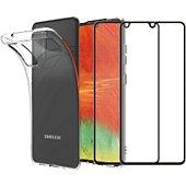 Pack Essentielb Samsung A41 Coque + Verre trempé x2