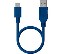 Câble USB C Essentielb  1M - Bleu