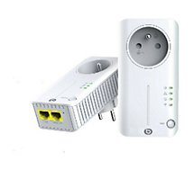CPL Wifi Essentielb  DUO WIFI 550 2RJ45
