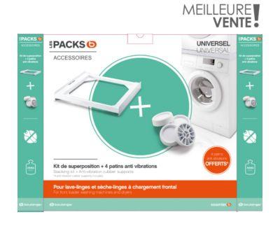 Kit de superposition Essentielb + 4 patins silicone offerts