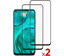 Protège écran Essentielb  Huawei P40 Lite Verre trempé x2