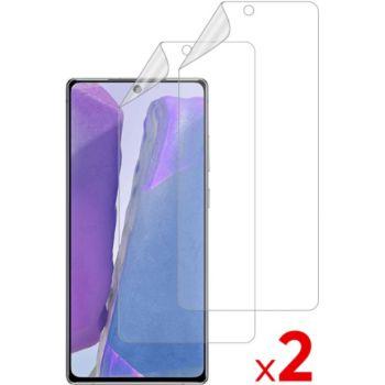 Essentielb Samsung Note 20 Film protecteur x2