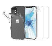 Pack Essentielb  iPhone 12 mini Coque+ Film protecteur x2