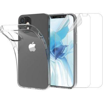 Essentielb iPhone 12 mini Coque+ Film protecteur x2
