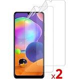 Protège écran Essentielb  Samsung A31 Film protecteur x2