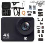 Caméra sport Essentielb Xtrem 8 II 4K + 20 accessoires inclus