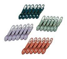 Pinces linge Essentielb  bi-matière x24
