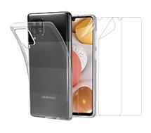 Pack Essentielb  Samsung A42 5G Coque + Film protecteur