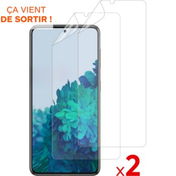 Essentielb Samsung S21+ Film protecteur x2